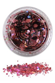Glitters powder pink grove