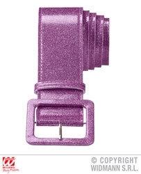 Riem glitter paars