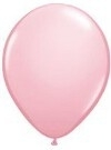Kwaliteitsballon metallic roze 10 stuks
