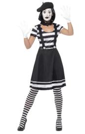 Lady Mime Artist kostuum