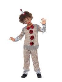 Vintage clown horror kostuum
