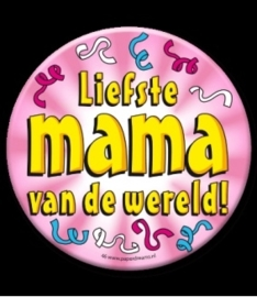 Button XL liefste mama