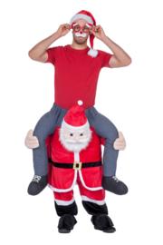 Kostuum door Kerstman gedragen