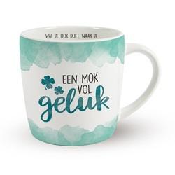 Enjoy Mok - Mok vol geluk | Koffie beker
