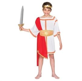 Romeinse keizer kostuum jongen