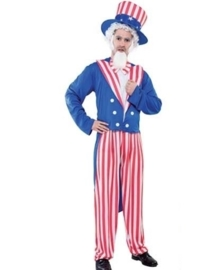 Uncle sam kostuum