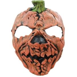 Masker halloween pompoen latex