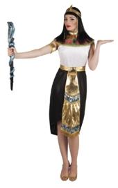 Cleopatra jurk zwart