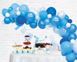Ballonnen decoratie set luxe | blauw