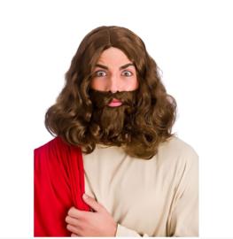 Jezus baard en pruik