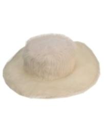 Pimphoed wit bont laag