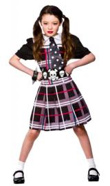 Freaky schoolgirl jurkje