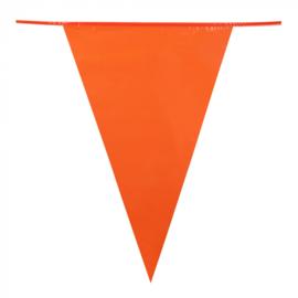 Vlaggenlijn oranje XL