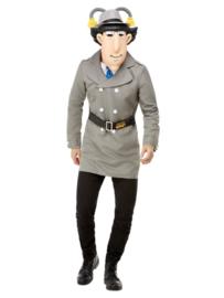 Inspector gadget kostuum