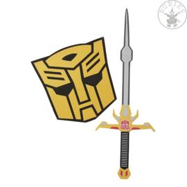 Bumblebee Sword & Shield Set Kind   Licentie