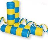 Serpetine 20x 4m brandwerend geel blauw