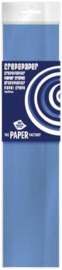 Crepe papier licht blauw