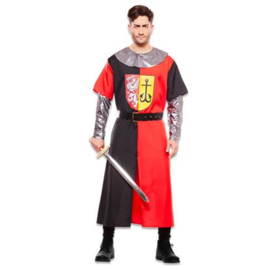 Middeleeuwse ridder rood