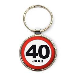 Luxe Sleutelhanger - 40 Jaar