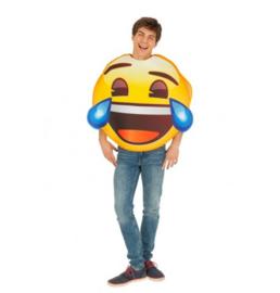 Emoji lachen kostuum