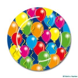 Vrolijke verjaardag bordjes