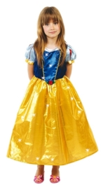Sneeuwwitje jurk deluxe