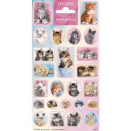 Sticker vel Softies & Cuties Kittens