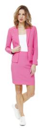 Ms. pink opposuits kostuum