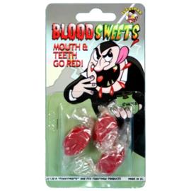 Rode mond snoepjes 3 stuks
