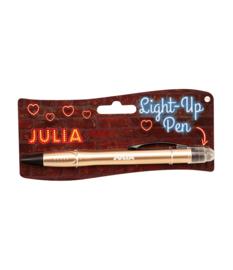Light up pen - Julia