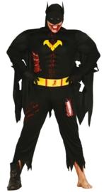 Zombie batman kostuum