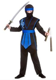 Samurai ninja kostuum
