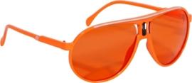Bril Oranje Scarface