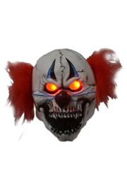 Masker horror clown met licht