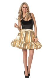 Gouden rok luxe