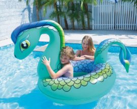 Opblaasbare Zwemband Mega draak 161x109cm