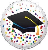 Folieballon graduation (43cm)