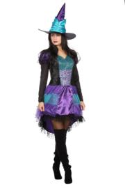 Heksen jurkje sparkle