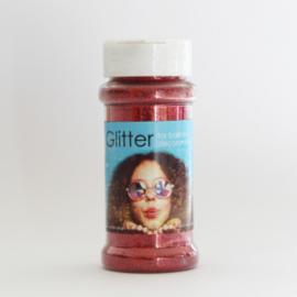100 gram glitter rood