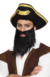Baardset piraat black