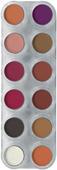 Oogschaduw / rouge palet 12 | RB