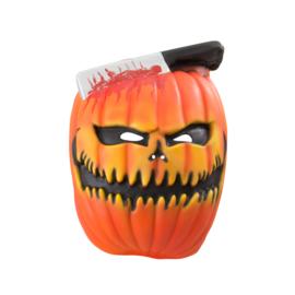 Foam scary pompoen masker XL