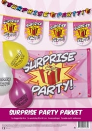 Feestpakket Suprise party
