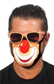 Mondkapje met Clown print