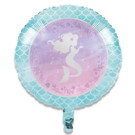 Folieballon zeemeermin