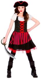 Prachtig piraten meisje kostuum