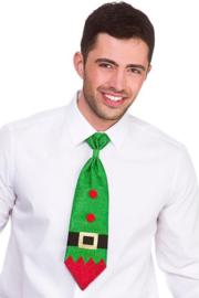 Stropdas glitter Elf