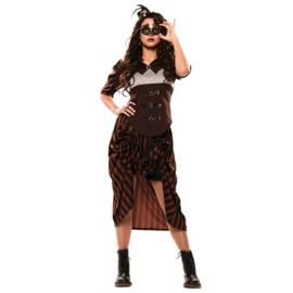 Steampunk jurk Steamy