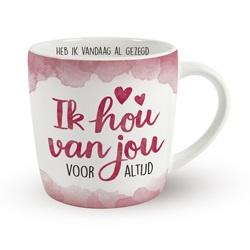 Enjoy Mok - Ik hou van jou | Koffie beker
