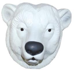 Masker plastic ijsbeer